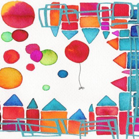 Illustratie voor Audio Doe Box, Project in samenwerking met Aletta Becker